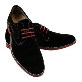 Fekete elegáns cipő 6-688 3