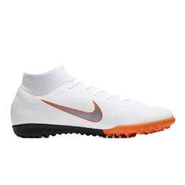 Nike Mercurial SuperflyX 6 Academy Tf M AH7370-107 futballcipő fehér fehér 1