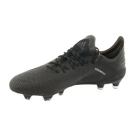 Foci cipő adidas X 19.1 Fg M F35314 fekete 2