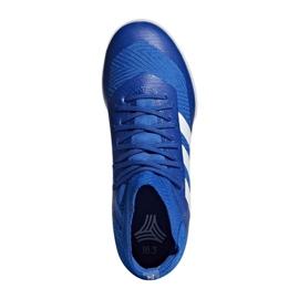Adidas Nemeziz Tango 18.3 IN Jr DB2374 futballcipő kék kék 1