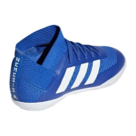 Adidas Nemeziz Tango 18.3 IN Jr DB2374 futballcipő kék kék 2