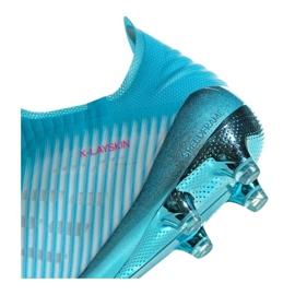 Adidas X 19+ Fg F35323 futballcipő kék kék 1