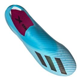 Adidas X 19+ Fg F35323 futballcipő kék kék 2