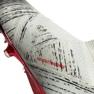 Nike Adidas Nemeziz 18+ Fg M BB9419 futballcipő fehér fehér, szürke / ezüst 5