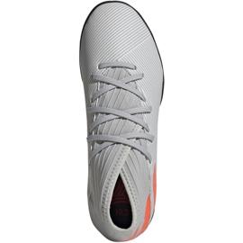 Adidas Nemeziz 19.3 Tf Jr EF8303 futballcipő szürke sokszínű 1