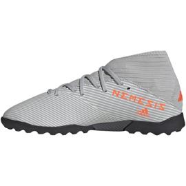 Adidas Nemeziz 19.3 Tf Jr EF8303 futballcipő szürke sokszínű 2
