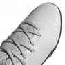 Adidas Nemeziz 19.3 Tf Jr EF8303 futballcipő szürke narancssárga, szürke / ezüst 3