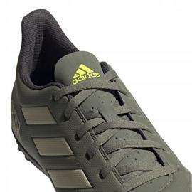 M adidas Predator 19.4 Tf EF8212 futballcipő zöld zöld