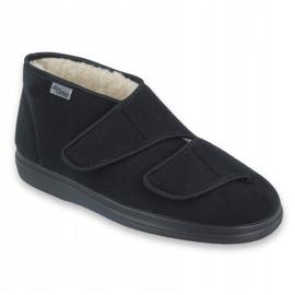 Befado női cipő pu 986D011 fekete 1