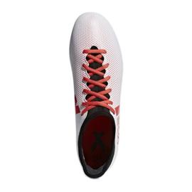 Adidas X 17.3 Fg M CP9192 futballcipő sokszínű piros, fehér, piros 3