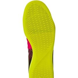 Puma evoPOWER 4.3 trükkös beltéri cipőt fekete fekete, sárga, rózsaszín 1