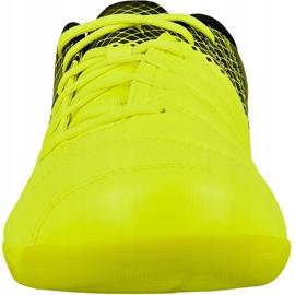 Puma evoPOWER 4.3 trükkös beltéri cipőt fekete fekete, sárga, rózsaszín 2