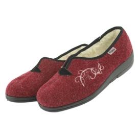 Befado női cipő pu 940D355 piros 4