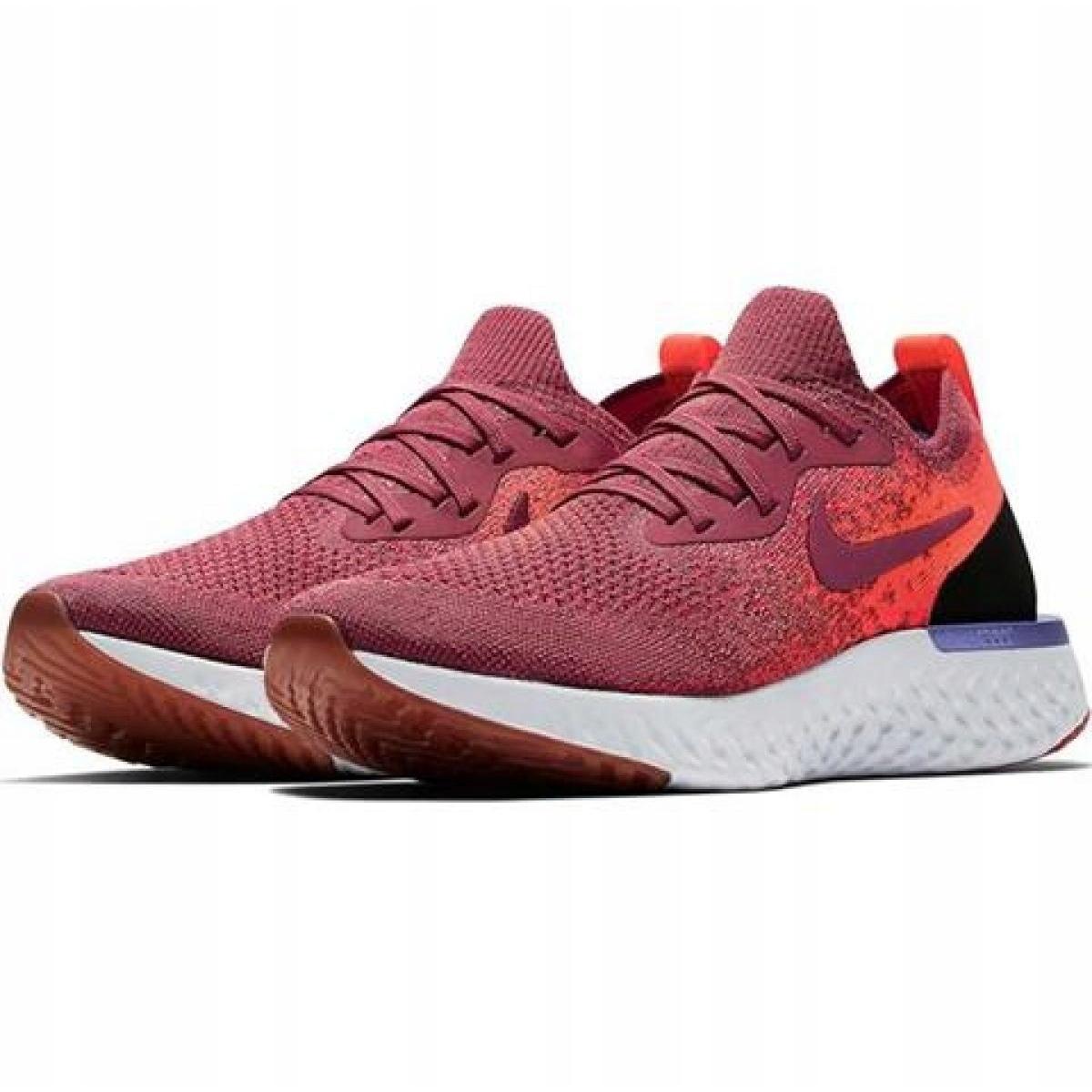 Nike Epic React Flyknit Női Piros,Nike Futócipő Olcsó