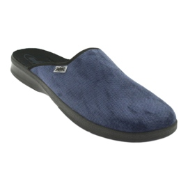 Befado férfi cipő pu 548M018 fekete haditengerészet 2
