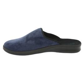 Befado férfi cipő pu 548M018 fekete haditengerészet 3
