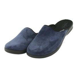 Befado férfi cipő pu 548M018 fekete haditengerészet 4