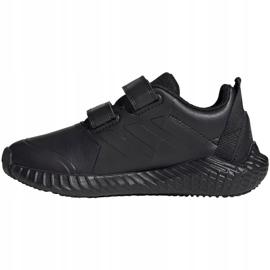 Adidas FortaGym Cf K Jr G27203 cipő fekete 2
