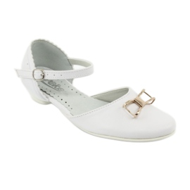 Udvariasságú ballerinas Komló Miko 707 fehér 1