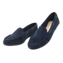 Női velúr cipő, Sergio Leone 722 sötétkék haditengerészet 3