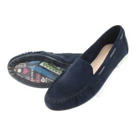 Női velúr cipő, Sergio Leone 722 sötétkék haditengerészet 5