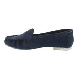 Női velúr cipő, Sergio Leone 722 sötétkék haditengerészet 2