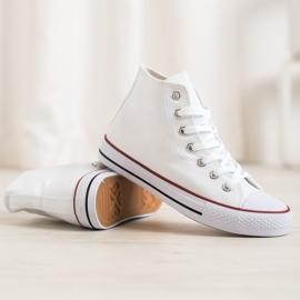 Super Me Magas cipők fehér 1