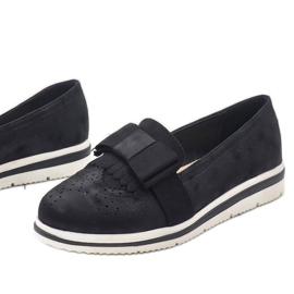 Fekete matt cipő az YT-8 égen 1