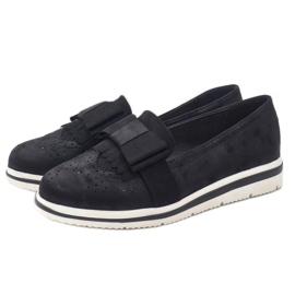 Fekete matt cipő az YT-8 égen 2