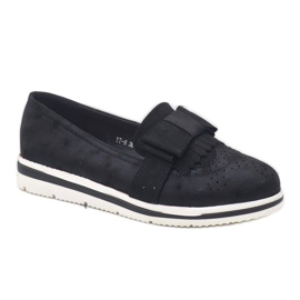 Fekete matt cipő az YT-8 égen 3