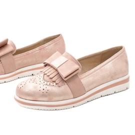 Rózsaszín matt cipő az YT-8 égen 1