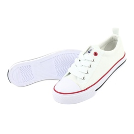 American Club Fehér amerikai LH25 csomós cipők 5