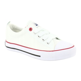 American Club Fehér amerikai LH25 csomós cipők 2