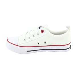 American Club Fehér amerikai LH25 csomós cipők 3