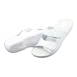 Flip flops fehér egészségügyi Comfooty Nadia 3
