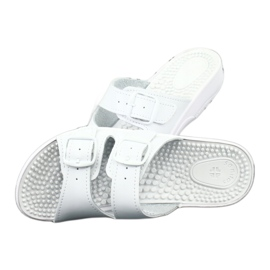 Flip flops fehér egészségügyi Comfooty Nadia 4