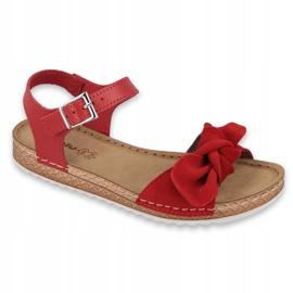 Comfort Inblu női cipő 158D117 piros 1