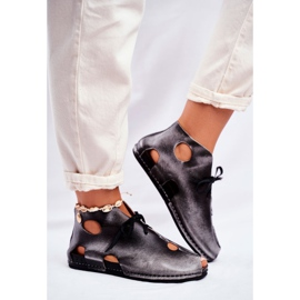 Női cipő Maciejka Popiel 03426-03 szürke 4