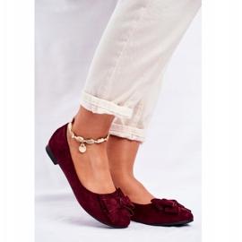 SEA Jordos női balerina cipő piros 1