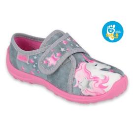 Befado gyermekcipő 560X117 rózsaszín szürke 1