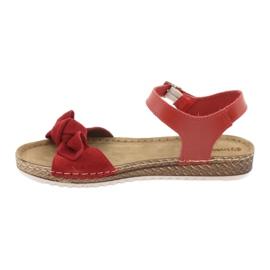 Comfort Inblu női cipő 158D117 piros 2