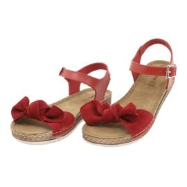 Comfort Inblu női cipő 158D117 piros 3