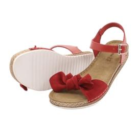 Comfort Inblu női cipő 158D117 piros 4