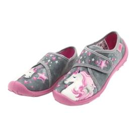 Befado gyermekcipő 560X117 rózsaszín szürke 3