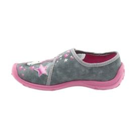 Befado gyermekcipő 560X117 rózsaszín szürke 2
