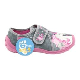 Befado gyermekcipő 560X117 rózsaszín szürke 6