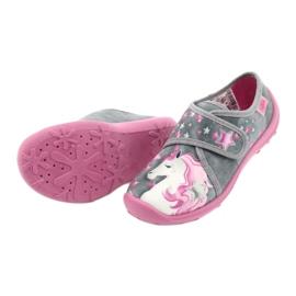 Befado gyermekcipő 560X117 rózsaszín szürke 4