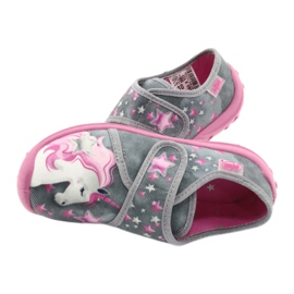 Befado gyermekcipő 560X117 rózsaszín szürke 5