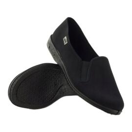 Fekete papucs Befado 001M060 3