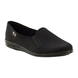 Fekete papucs Befado 001M060 1